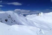 Suelo cubierto de nieve